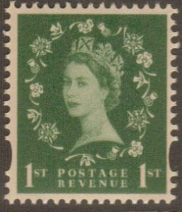 SG2259 1st Class 2 Band Decimal Wilding Stamp
